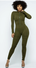 Load image into Gallery viewer, Front Zip jumpsuit