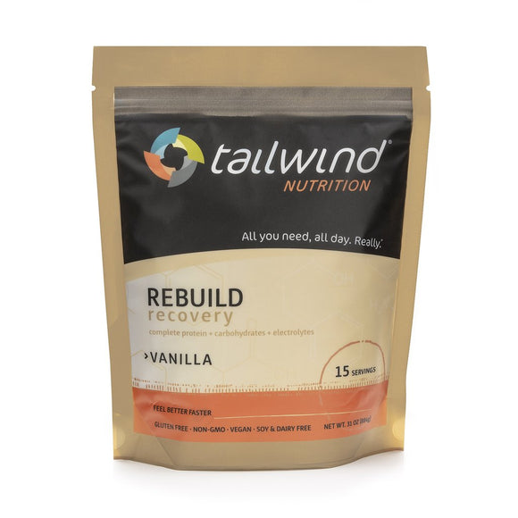 Tailwind Nutrition - Vanilla Rebuild Recovery Drink (15-Serving Bag) - Systematics