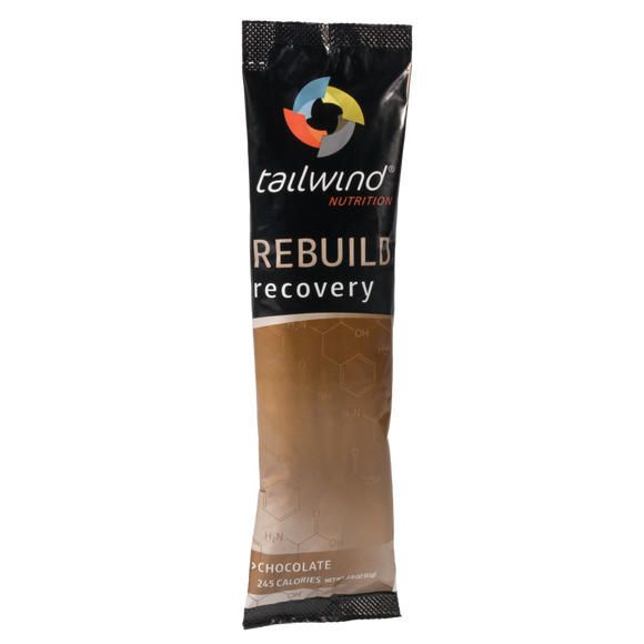 Tailwind Nutrition - Chocolate Rebuild Recovery Drink (Single Serving) - Systematics