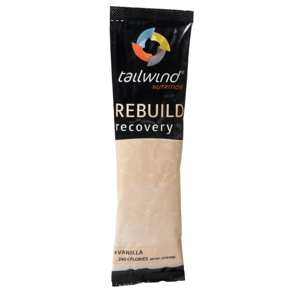 Tailwind Nutrition - Vanilla Rebuild Recovery Drink (Single Serving) - Systematics