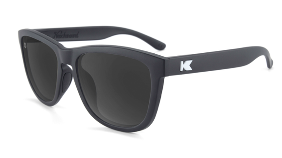 Knockaround Sport Premiums - Matte Black / Smoke (Polarised) - Systematics