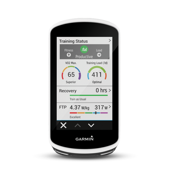 Garmin Edge 1030 - Systematics