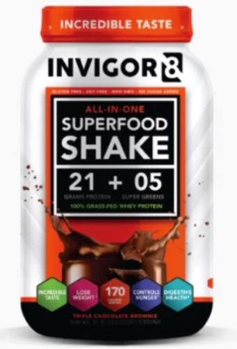 Invigor8 Super Food Shake - Systematics