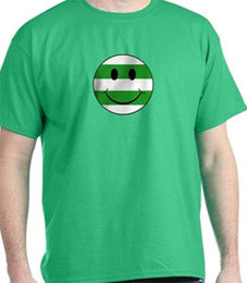 Smiley Hoops T Shirt