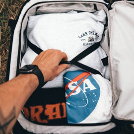 Clamshell Opening - Travel Backpack