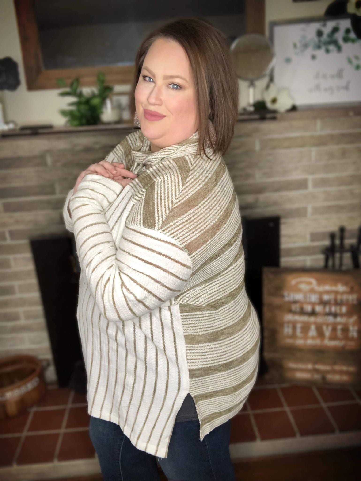 Terry Cloth Spring Sweater