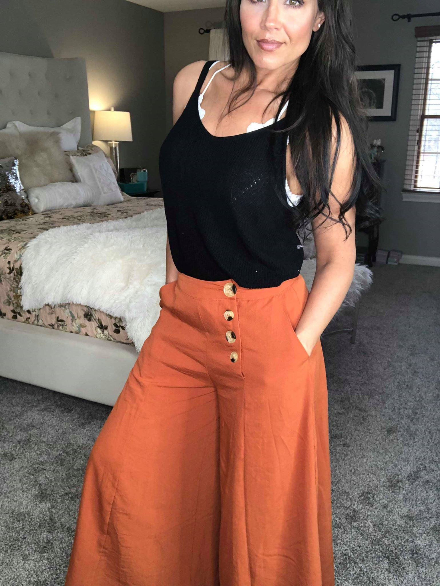 Night Out Palazzo Pants