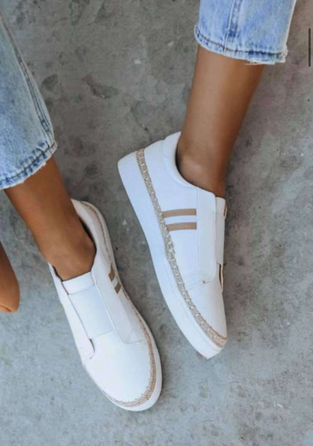 Starboard Faux Leather Sneakers