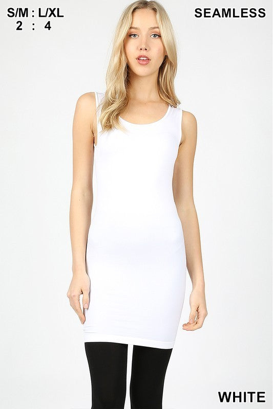 Seamless Tank Slip Dress