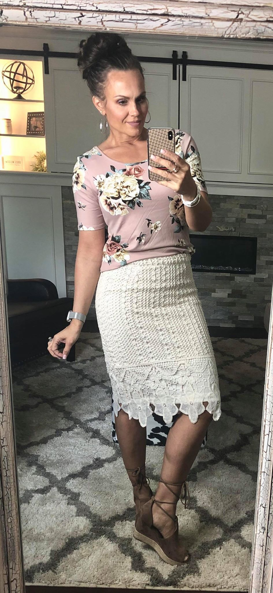 Lady Luck Lace Skirt