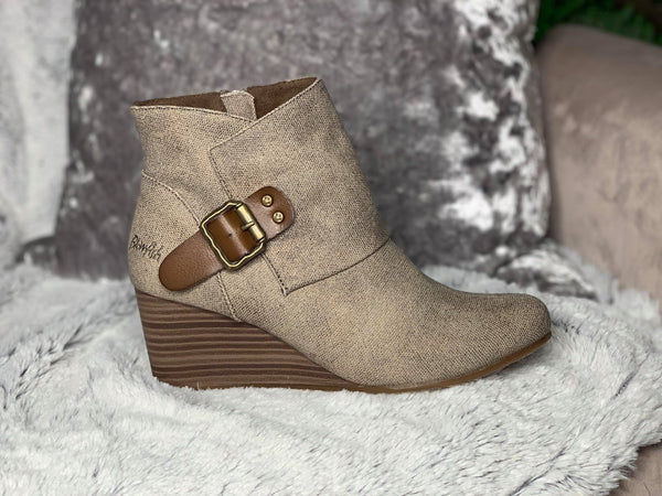 Baldwin Blowfish Wedge Bootie