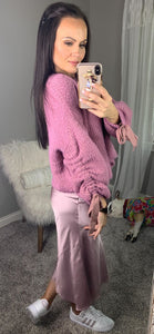 Don't Miss Out Eyelash Sweater