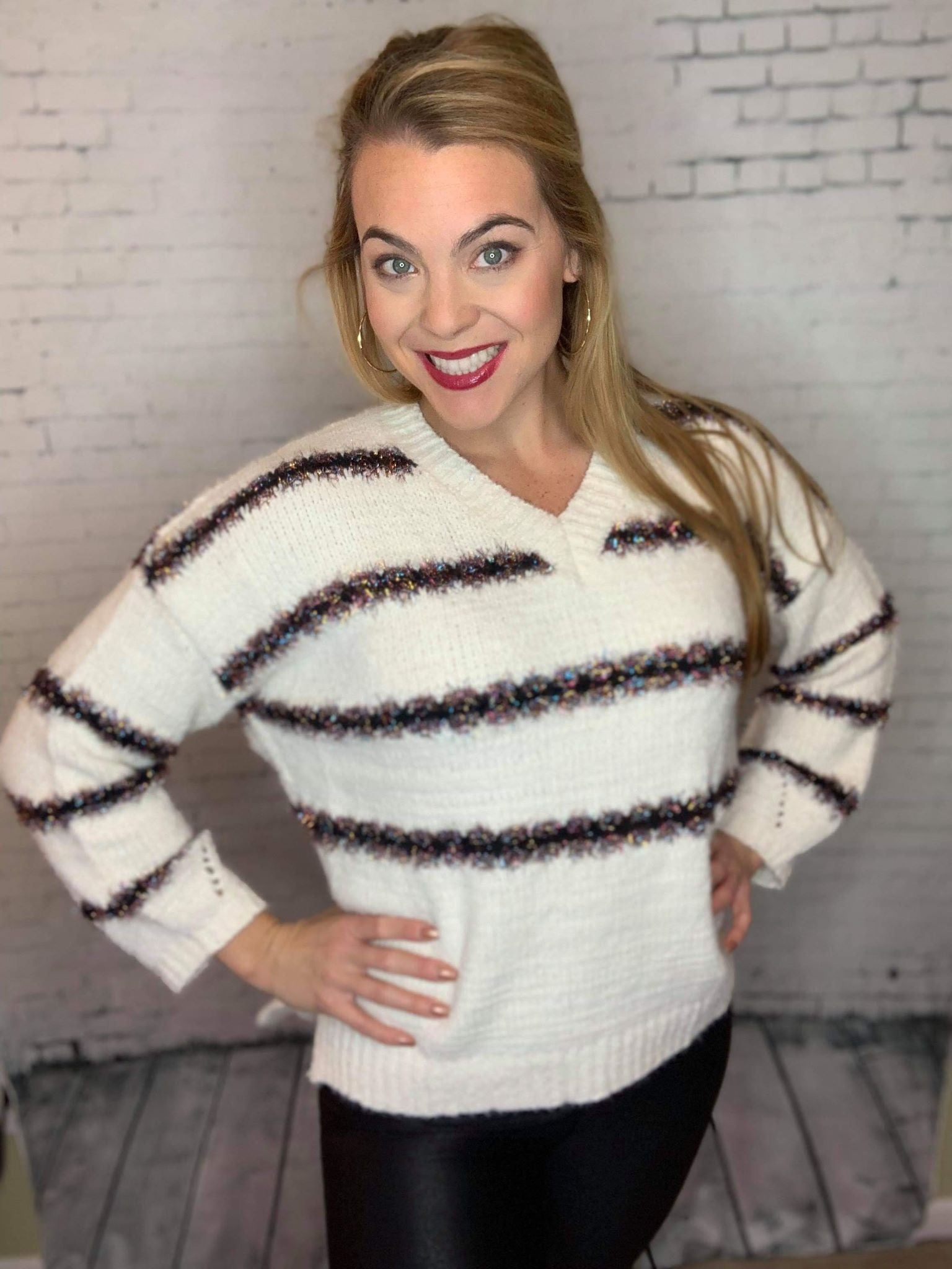 Festive Mood Pullover Sweater
