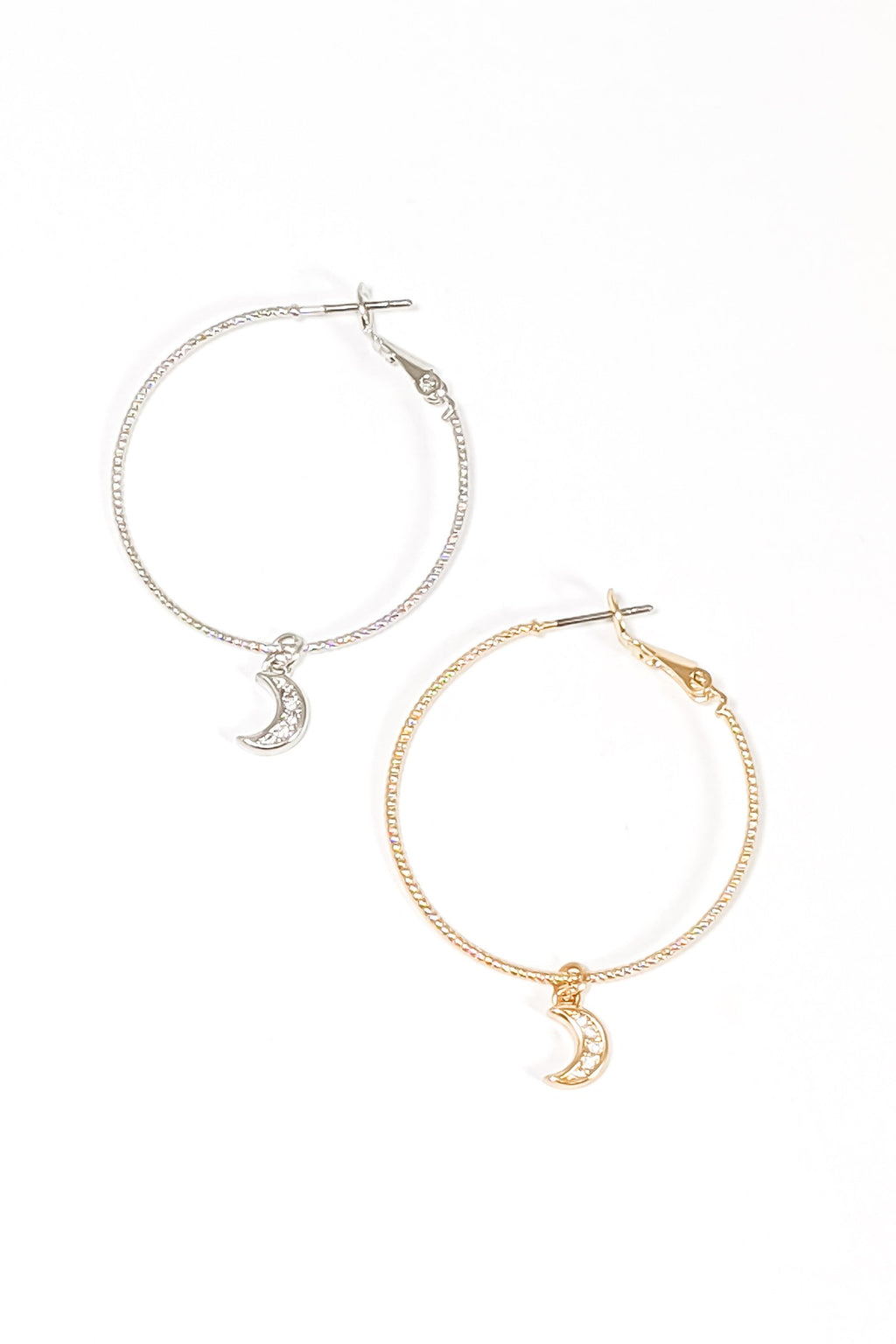 Eye On You Hoop Earrings