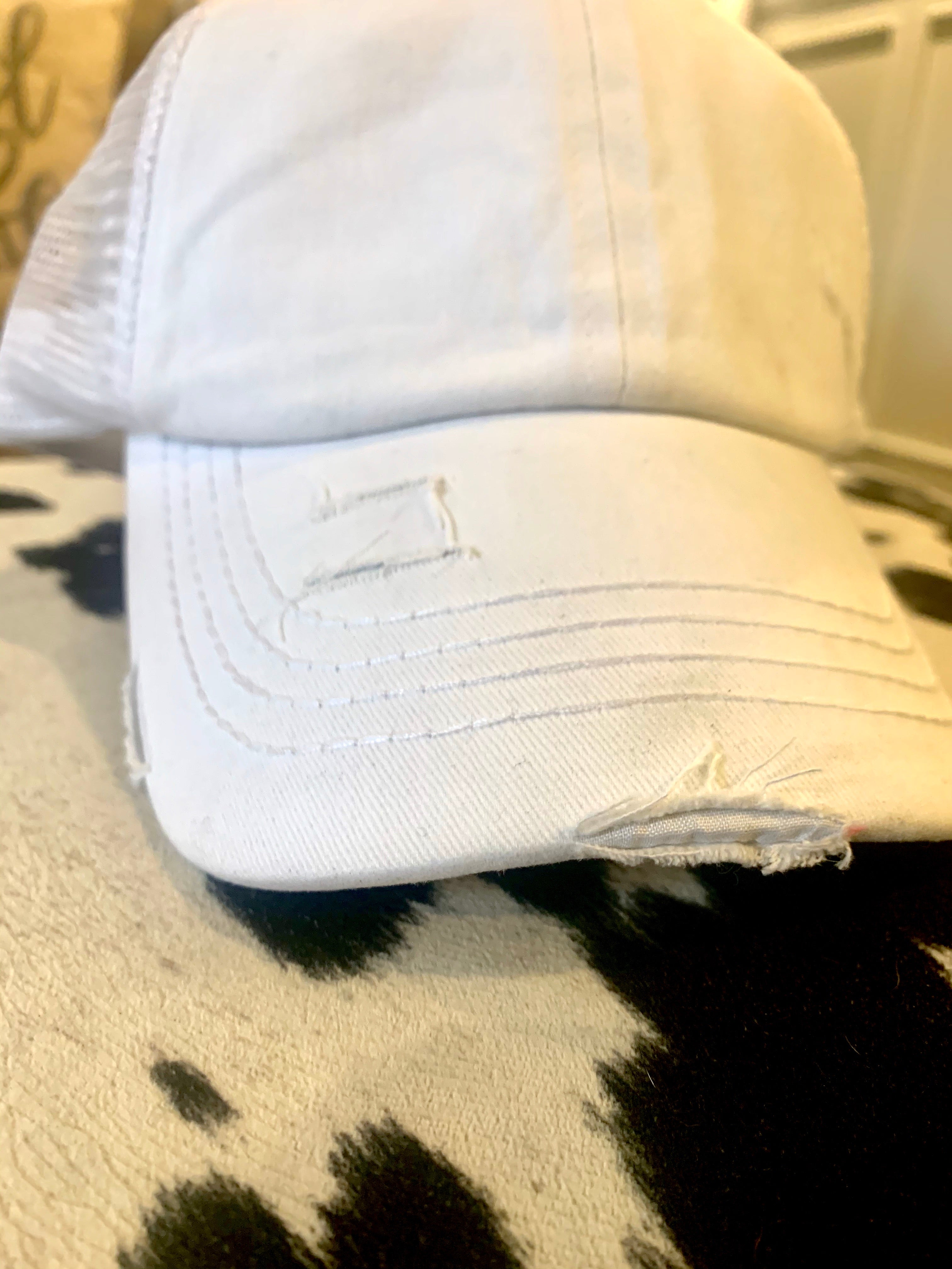 CC Distressed Baseball Cap