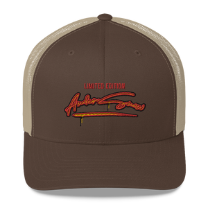 Limited edition AnderSnow Trucker Hat brown khaki