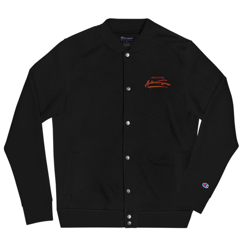andersnow limited edition black champion bomber