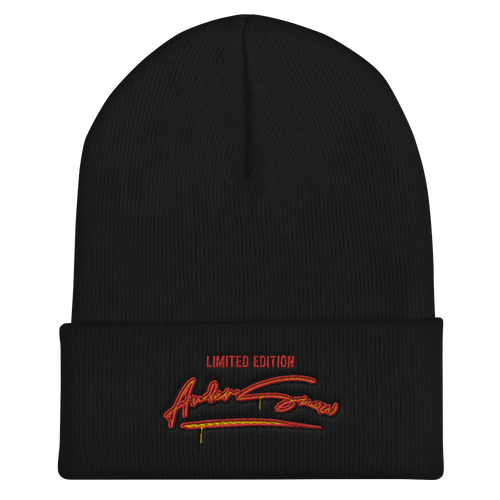 Limited Edition AnderSnow Cuffed Beanie black