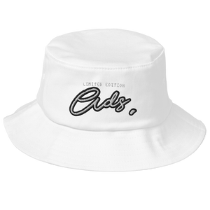 Limited Edition Ads Bucket Hat white