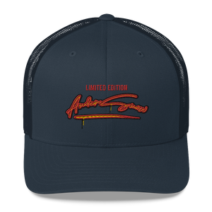 Limited edition AnderSnow Trucker Hat navy