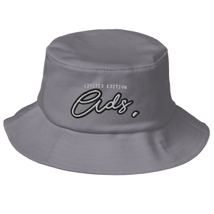 Limited Edition Ads Bucket Hat grey