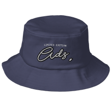 Load image into Gallery viewer, Limited Edition Ads Bucket Hat navy