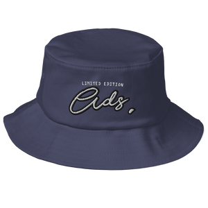 Limited Edition Ads Bucket Hat navy