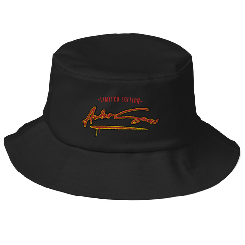 Limited Edition Andersnow Bucket Hat black