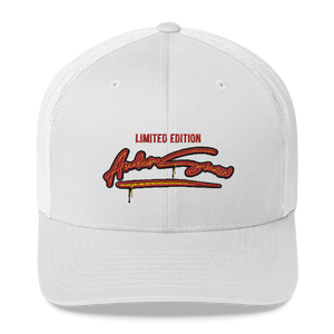 Limited edition AnderSnow Trucker Hat white