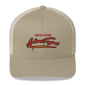 Limited edition AnderSnow Trucker Hat khaki