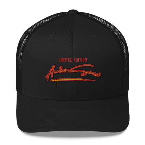 Limited edition AnderSnow Trucker Hat black