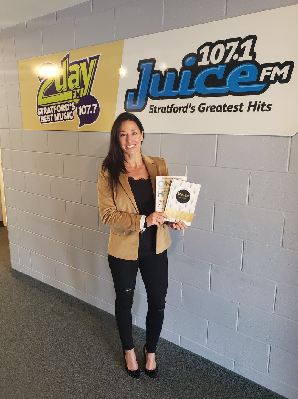 Author Deirdre Slattery on Juice FM