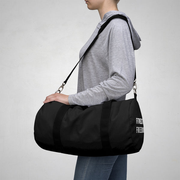 Fitness To Freedom Duffel Bag Black