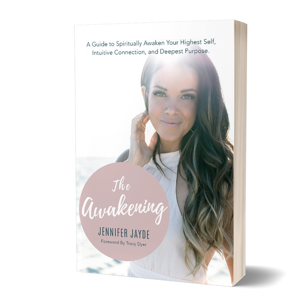 The Awakening book cover by Jennifer Jayde published by Golden Brick Road