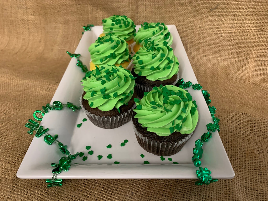 St. Paddy's Day Cupcakes (6 PACK)