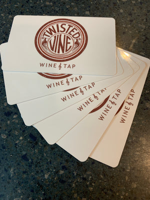 TWISTED VINE GIFT CARDS