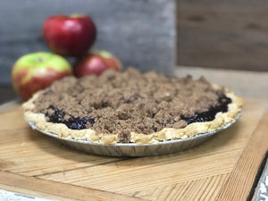 Perfect Berry Apple Crumb Pie