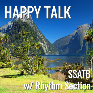 Happy Talk (SSATB - L4)