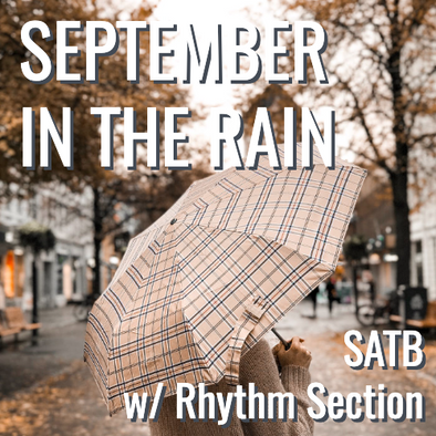 September in the Rain (SATB - L2)