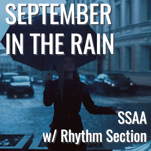 September in the Rain (SSAA - L2.5)