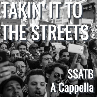 Takin' It To the Streets (SSATB - L4)