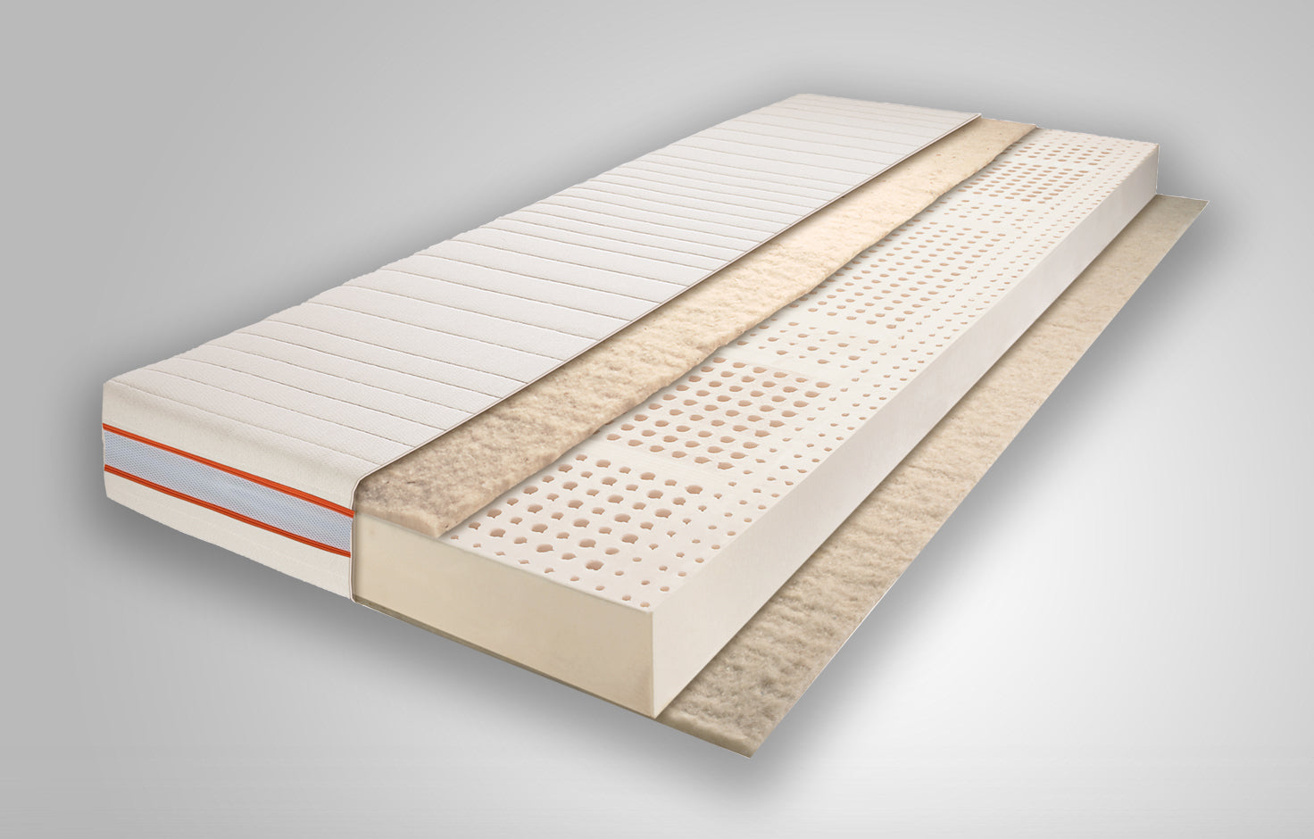 7-Zone 100% Natural Latex Mattress
