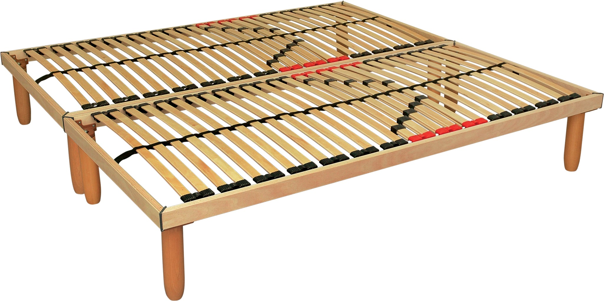 European ergonomic wooden slat bed - Dorinca