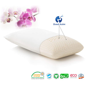 Made in Thailand Zoned Active 100% Natural Latex Pillow