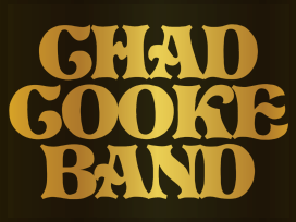 Gold Chad Cooke Band Sticker
