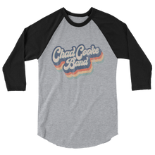 Load image into Gallery viewer, Retro Chad Cooke Band Baseball Tee 3/4 Sleeve