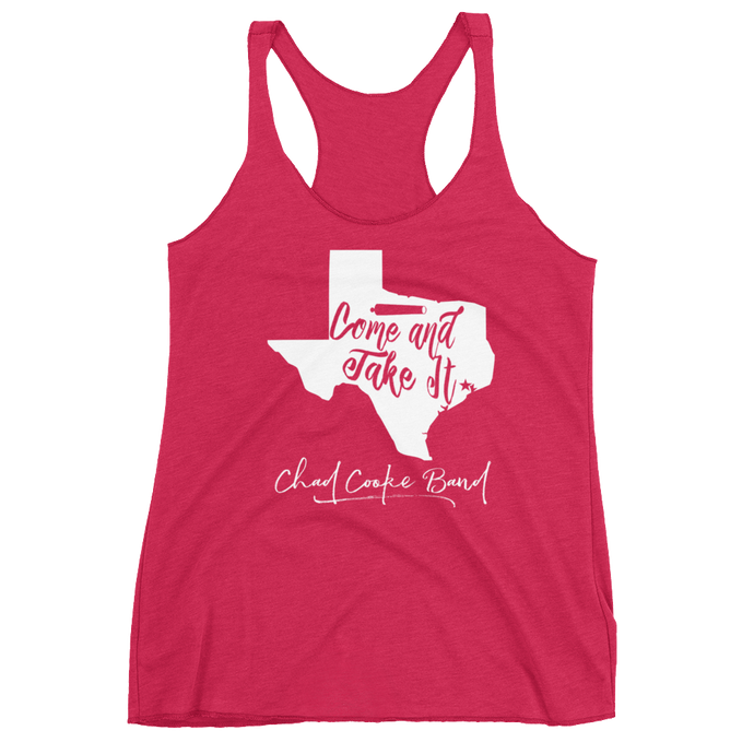 Come and Take It - Women's Racerback Tank