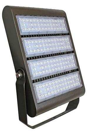 Westgate 220W LED Flood Light with Trunnion 120-277V - Dark Bronze, UL Listed