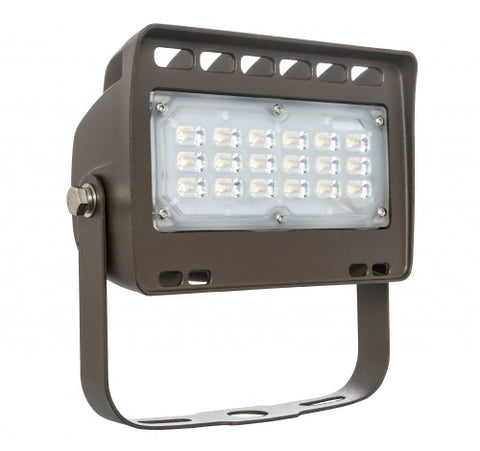 Westgate 30W Small LED Flood Lights LF4 Series 120~277V - Dark Bronze