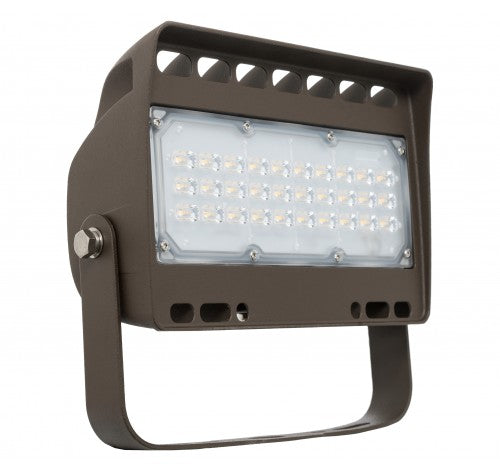 Westgate 50W Large Dark Bronze LED Flood Lights LF4 Series 120~277V AC